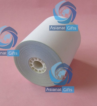 57mm x 57mm Self Carbonized Paper Roll Size