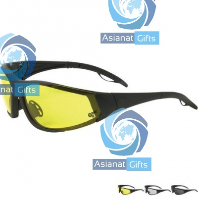 Safety Glasses w / Interchangeable Lenses