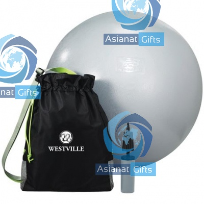 Exercise Ball and Fitness Bag