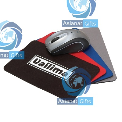 Mini Soft Rubber & Jersey Mouse Pad