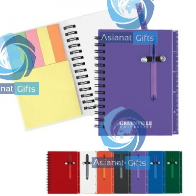 Multifunction Ruler Mini Notebook