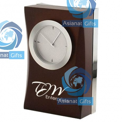 Contour Executive Wood Clock