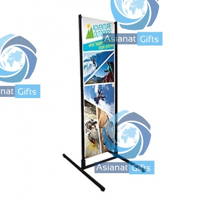 Four Season Outdoor Dual Track Banner Display Kit