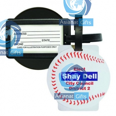 Sport Luggage Tag with Business Card Holder