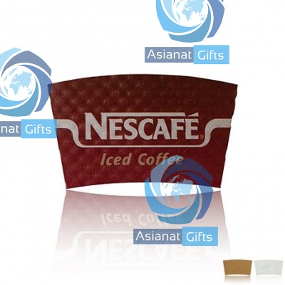 Paper Hot Beverage Sleeve, 8-9oz.